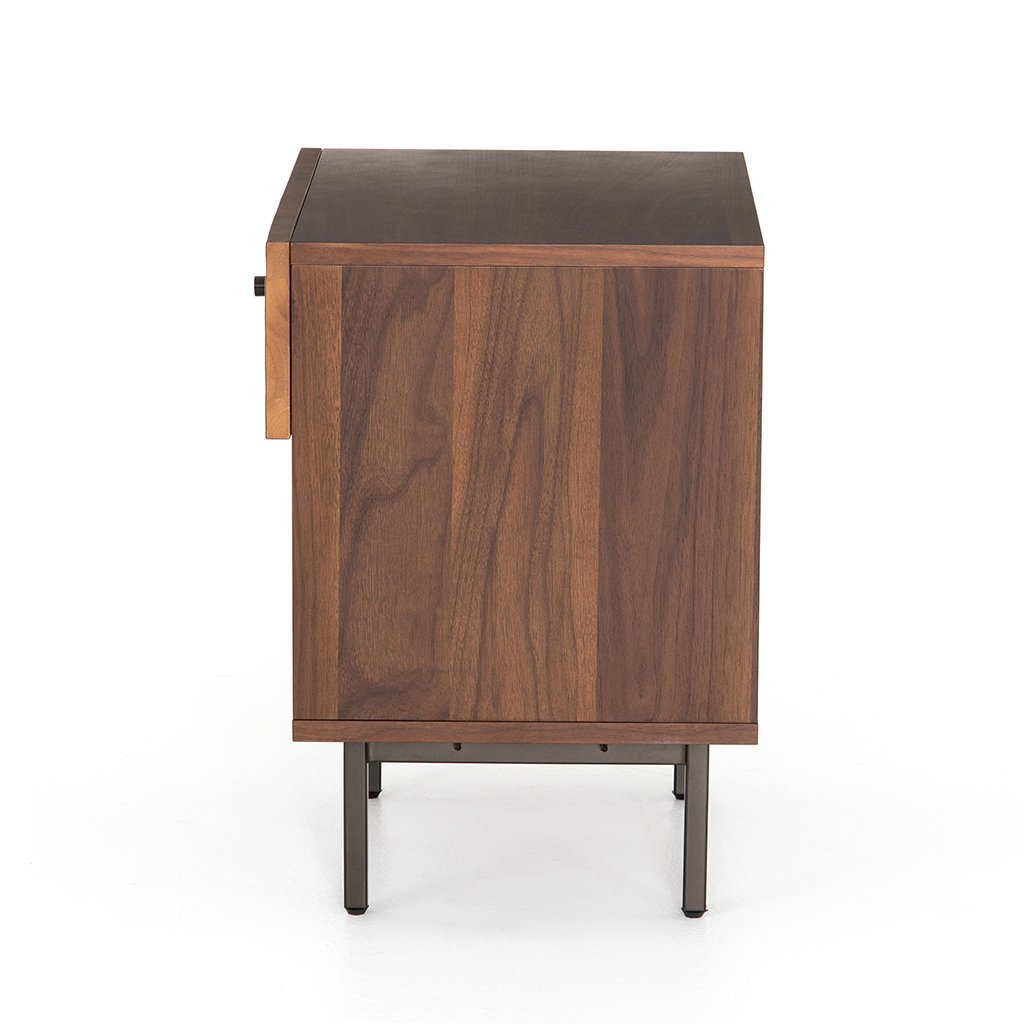 modern wood nightstand