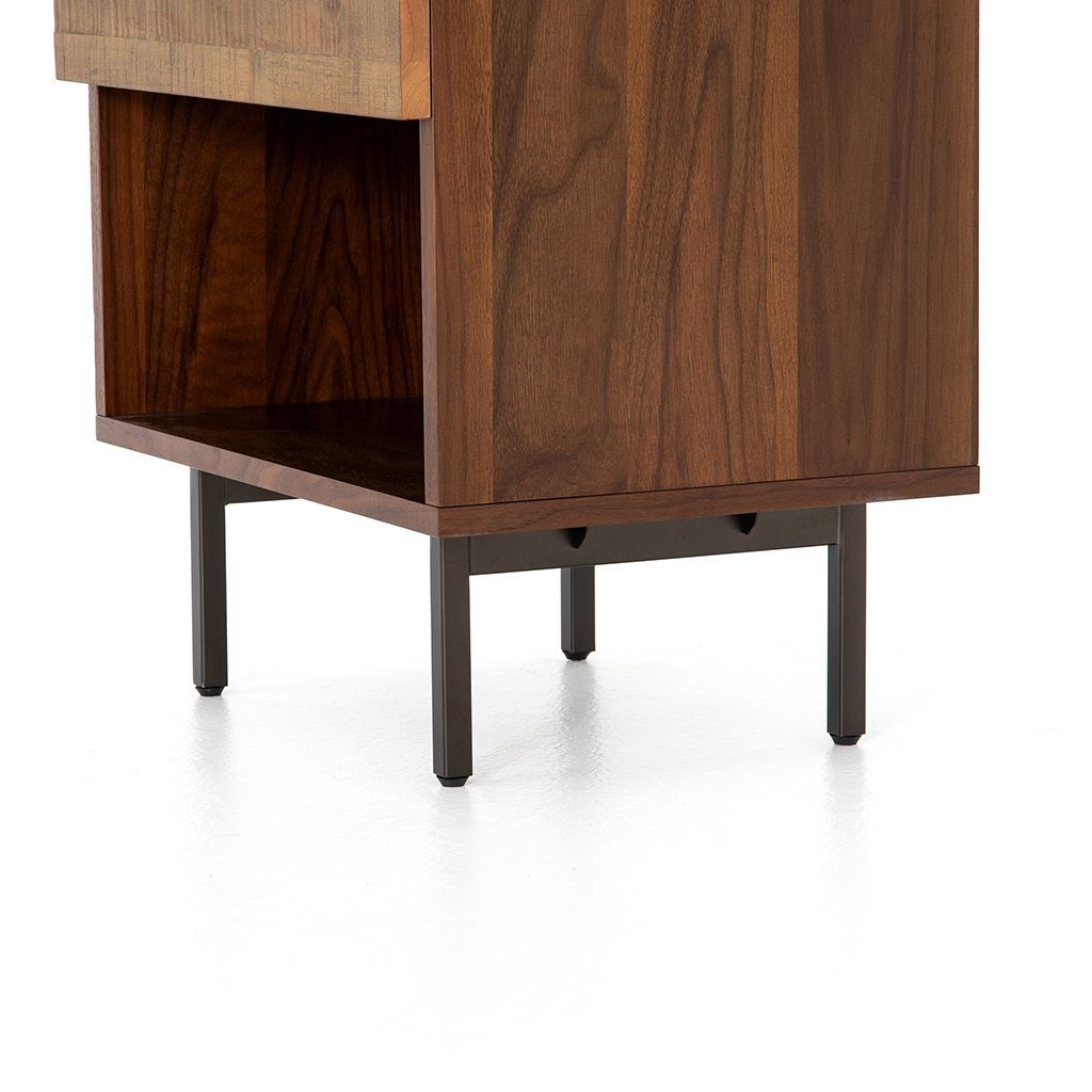 modern bedside table with drawer