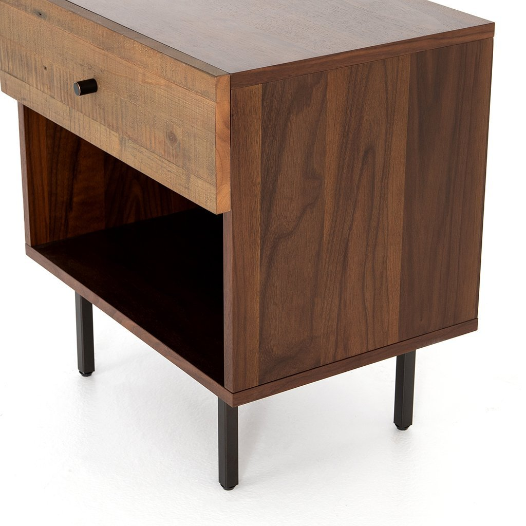 Harlan Nightstand VBAR-053 Four Hands Corner Detail
