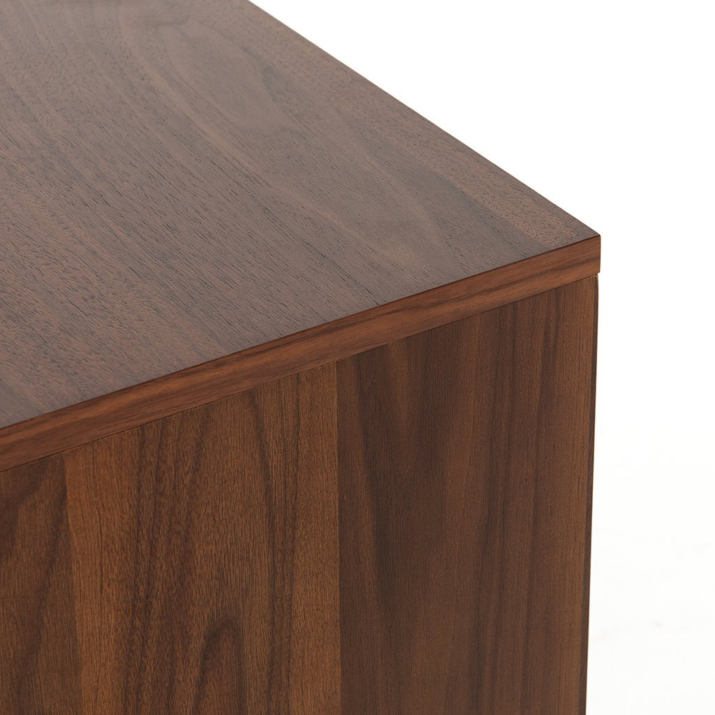 modern wooden bedside table