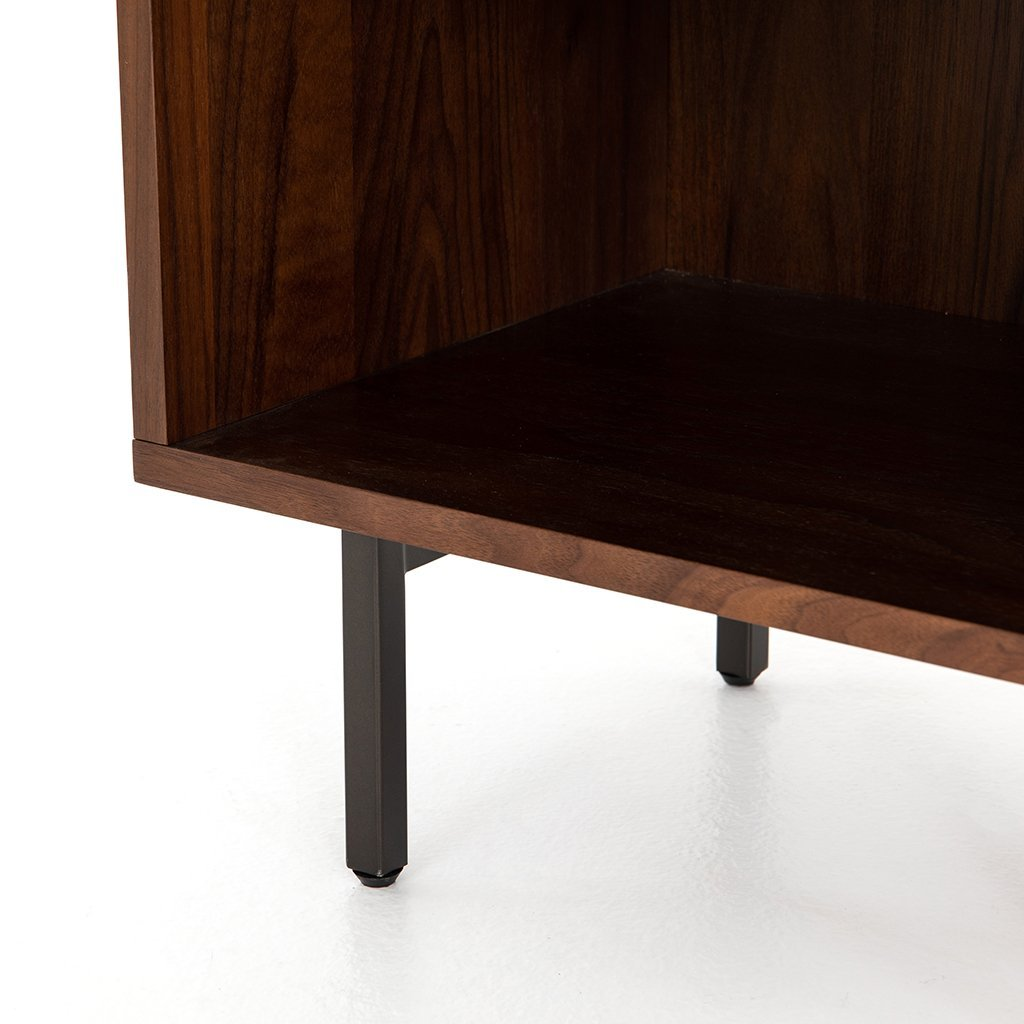 Harlan Nightstand VBAR-053 Four Hands Compartment details