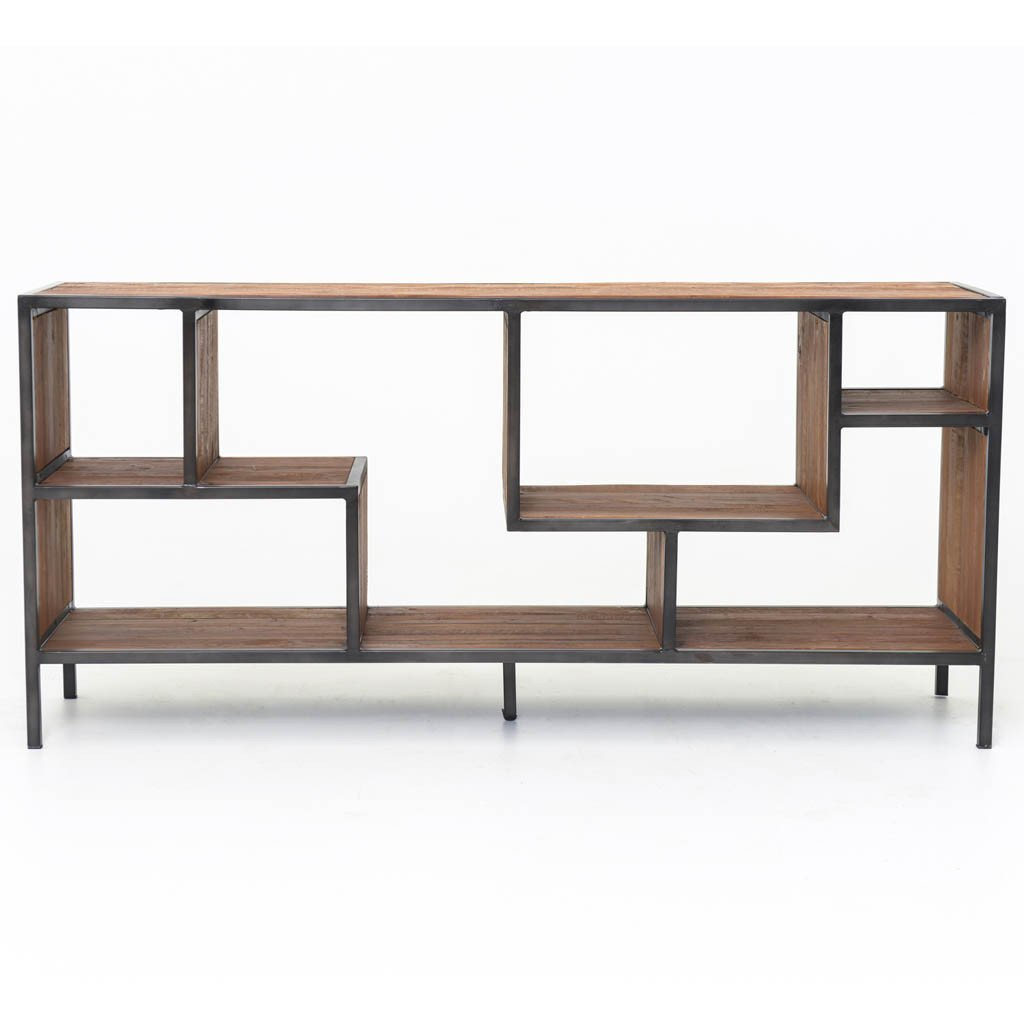 Helena console bookcases