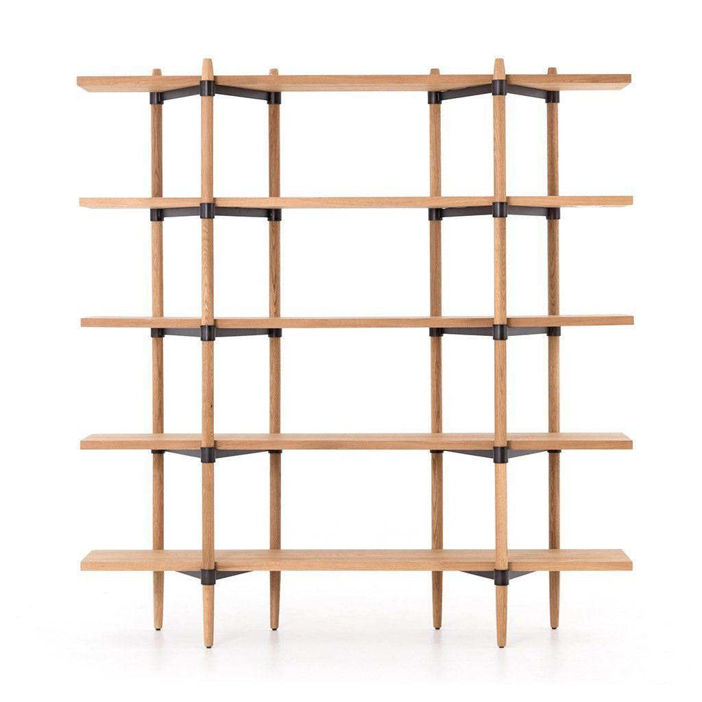 Holmes Bookshelf Four Hands Furniture