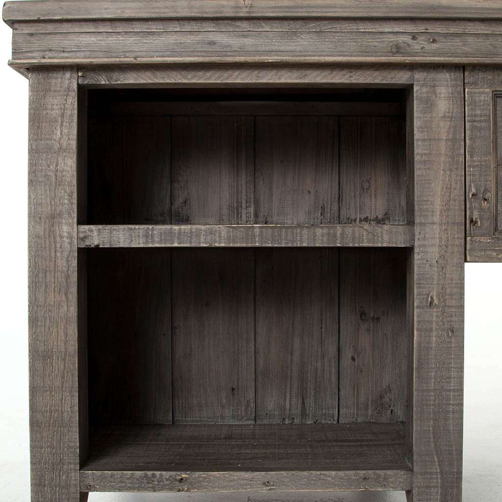 Irish Coast Desk - Black Olive