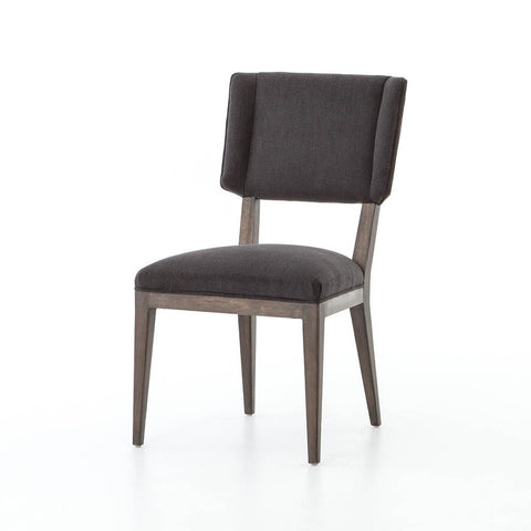 Nate Dining Chair - Dark Linen