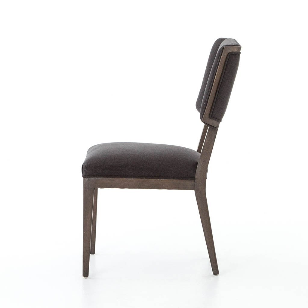 Jax Dining Chair - Misty Black Four Hands CABT-92