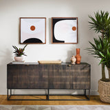 Four Hands Kelby Carved Sideboard
