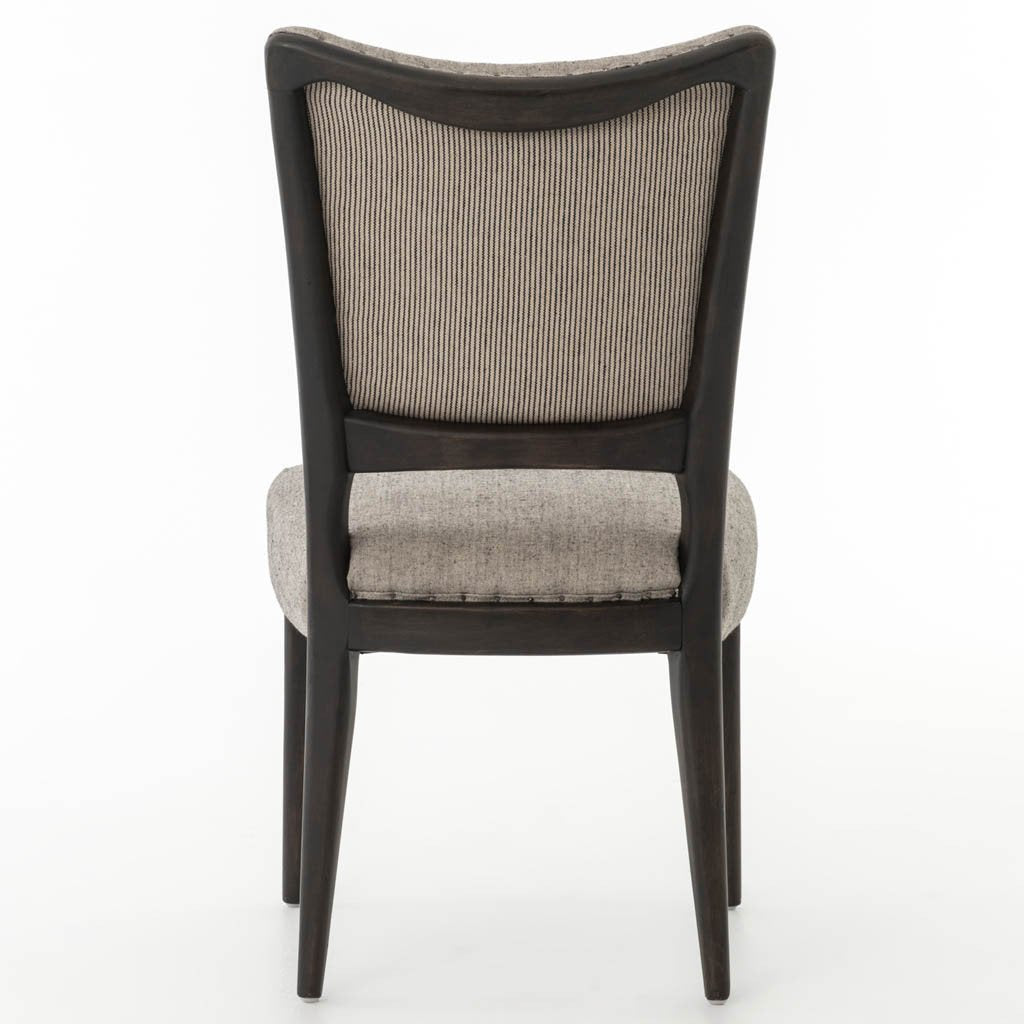 Lennox Dining Chair - White Gray