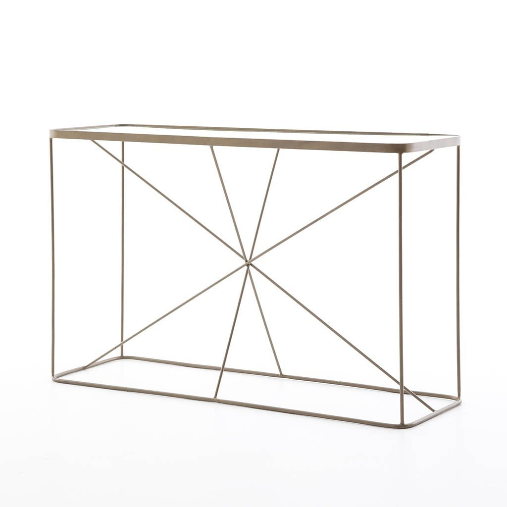 Lucas Console Table Four Hands IMAR-109-BRS