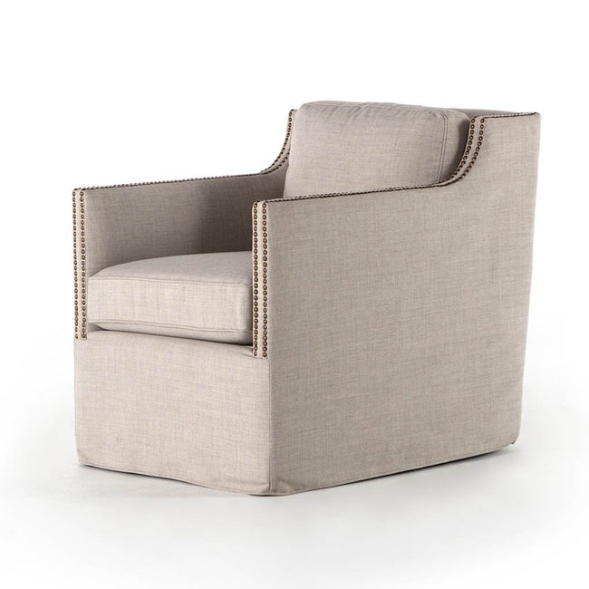Four Hands Lucca Swivel Chair - Bennett Moon