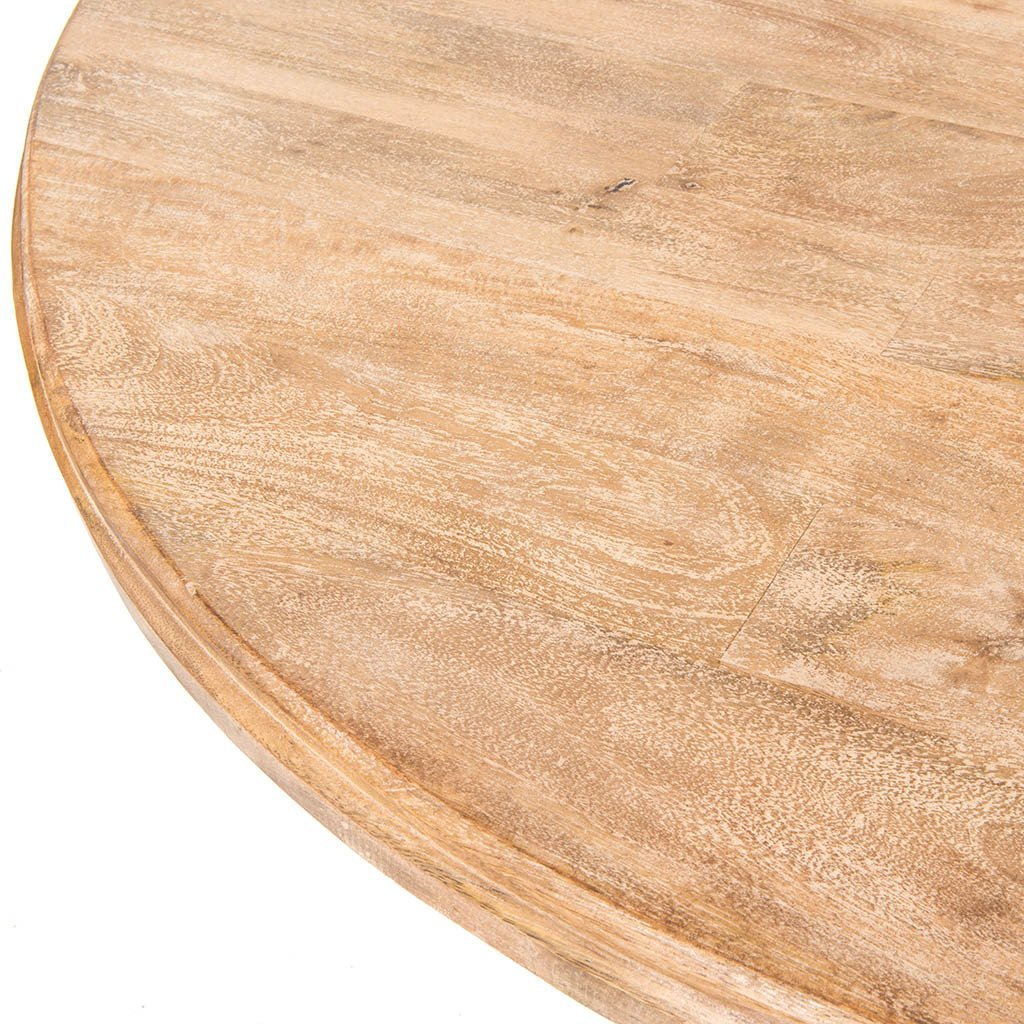 Magnolia Round Dining Table - Whitewash