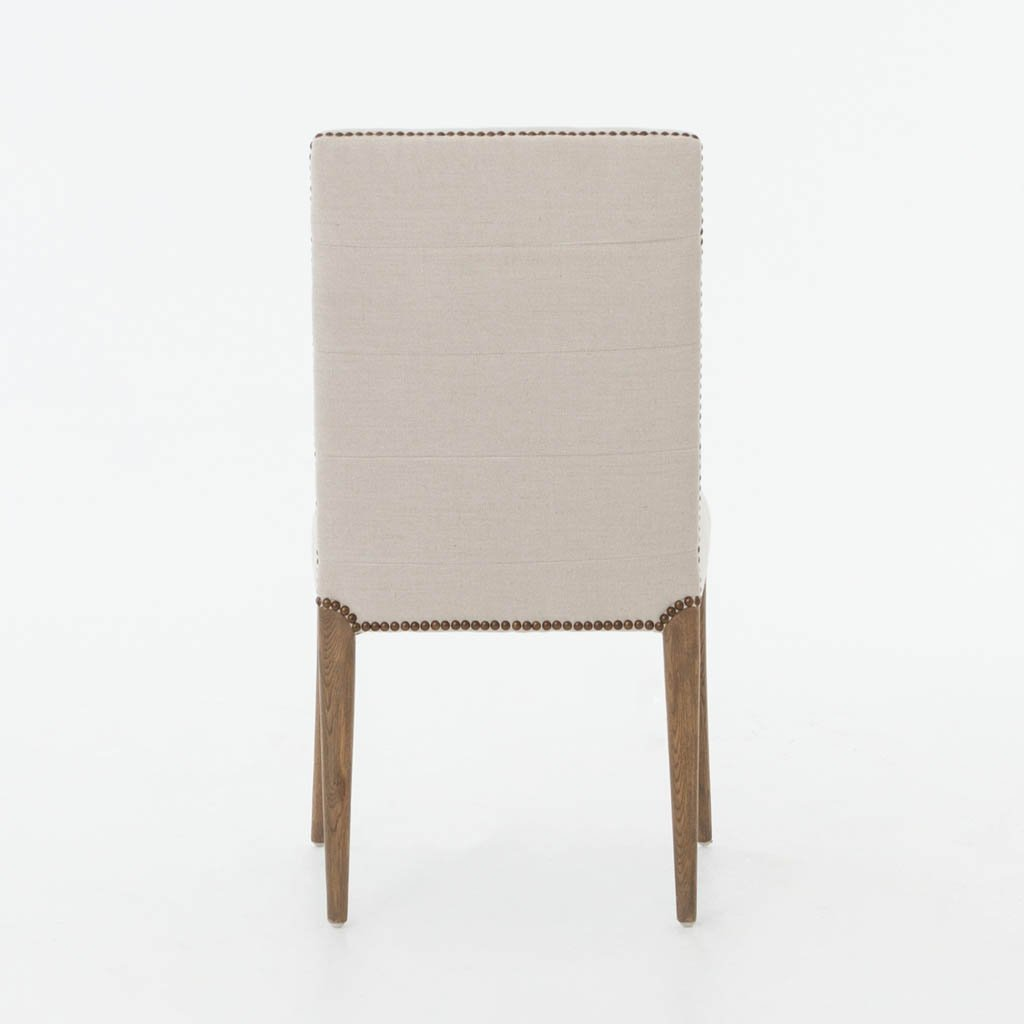Nate Dining Chair - Dark Linen CABT-90A Four Hands