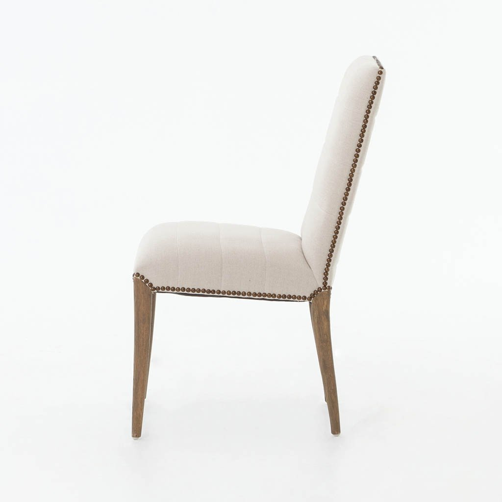 Nate Dining Chair - Dark Linen CABT-90A