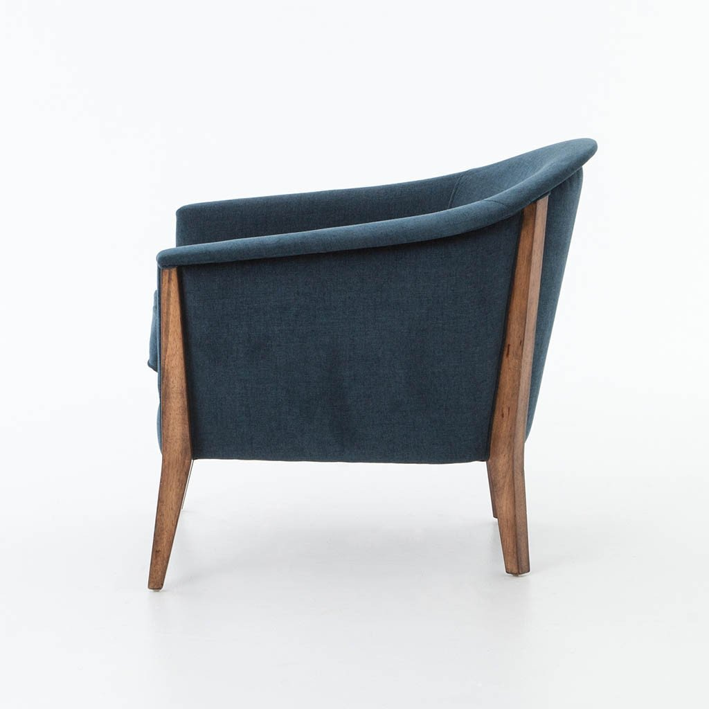 Four Hands Nomad Chair - Plush Azure CKEN-G5A6-406