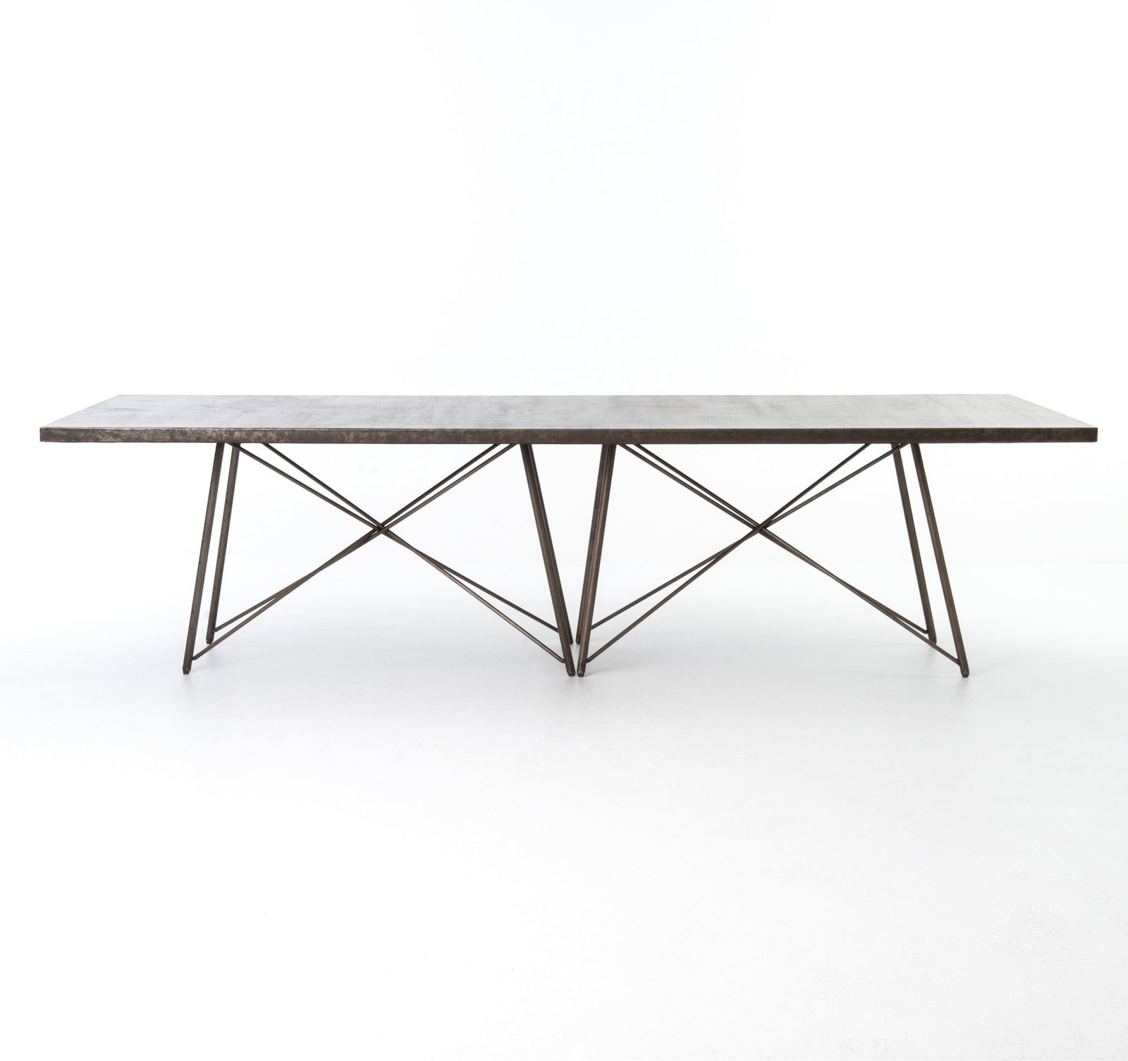 Long Roman Dining Table 114""