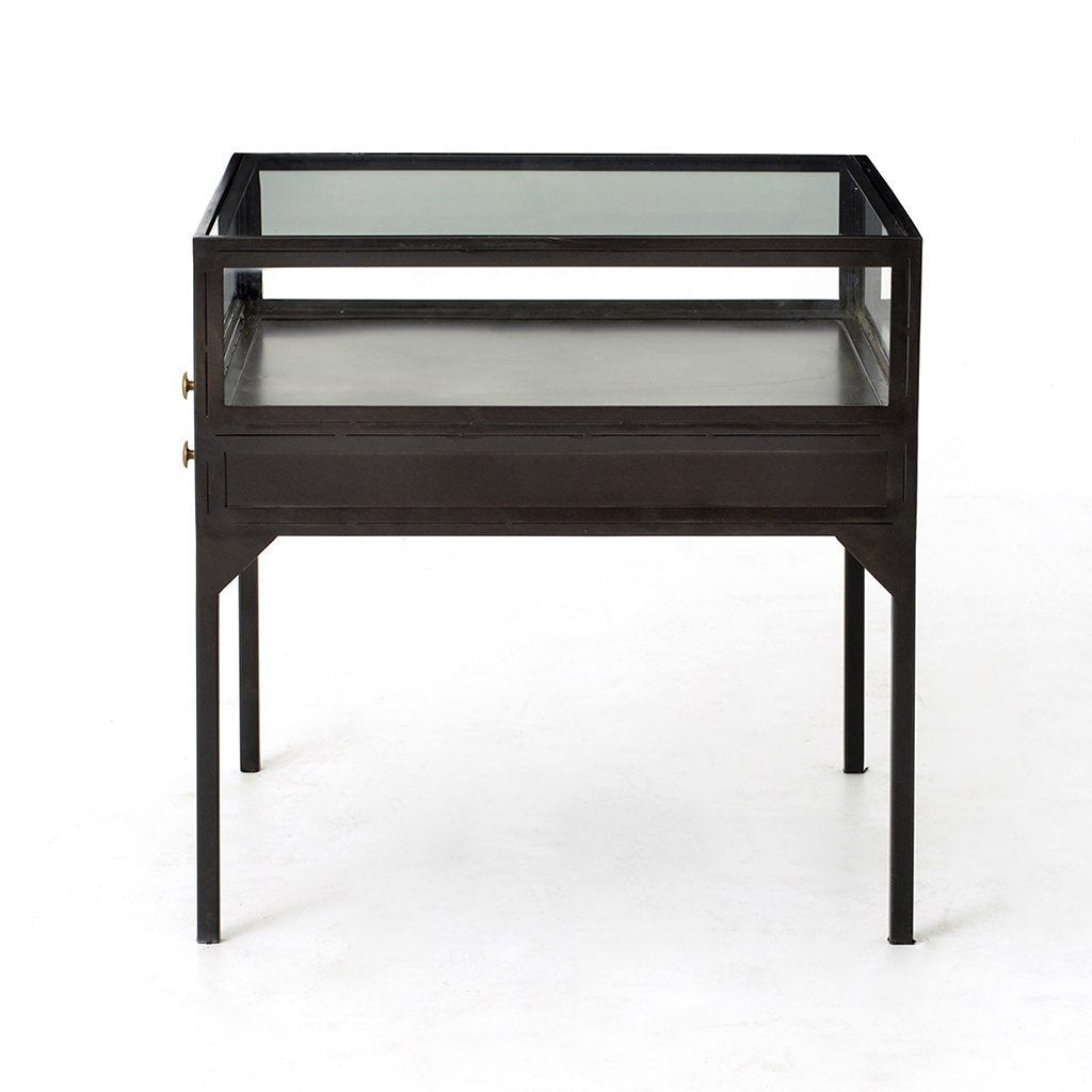Four Hands Shadow Box End Table VBEL-F039