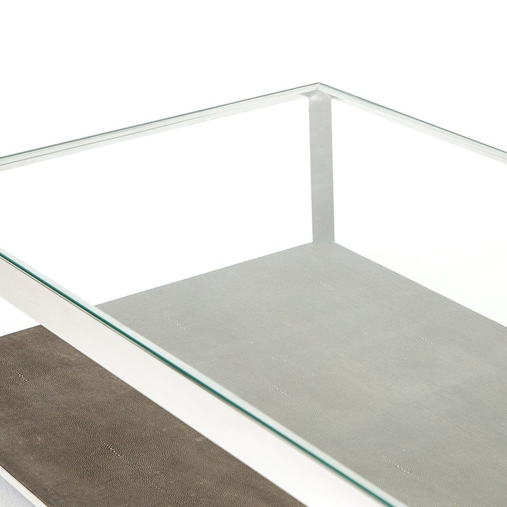 stainless coffee table