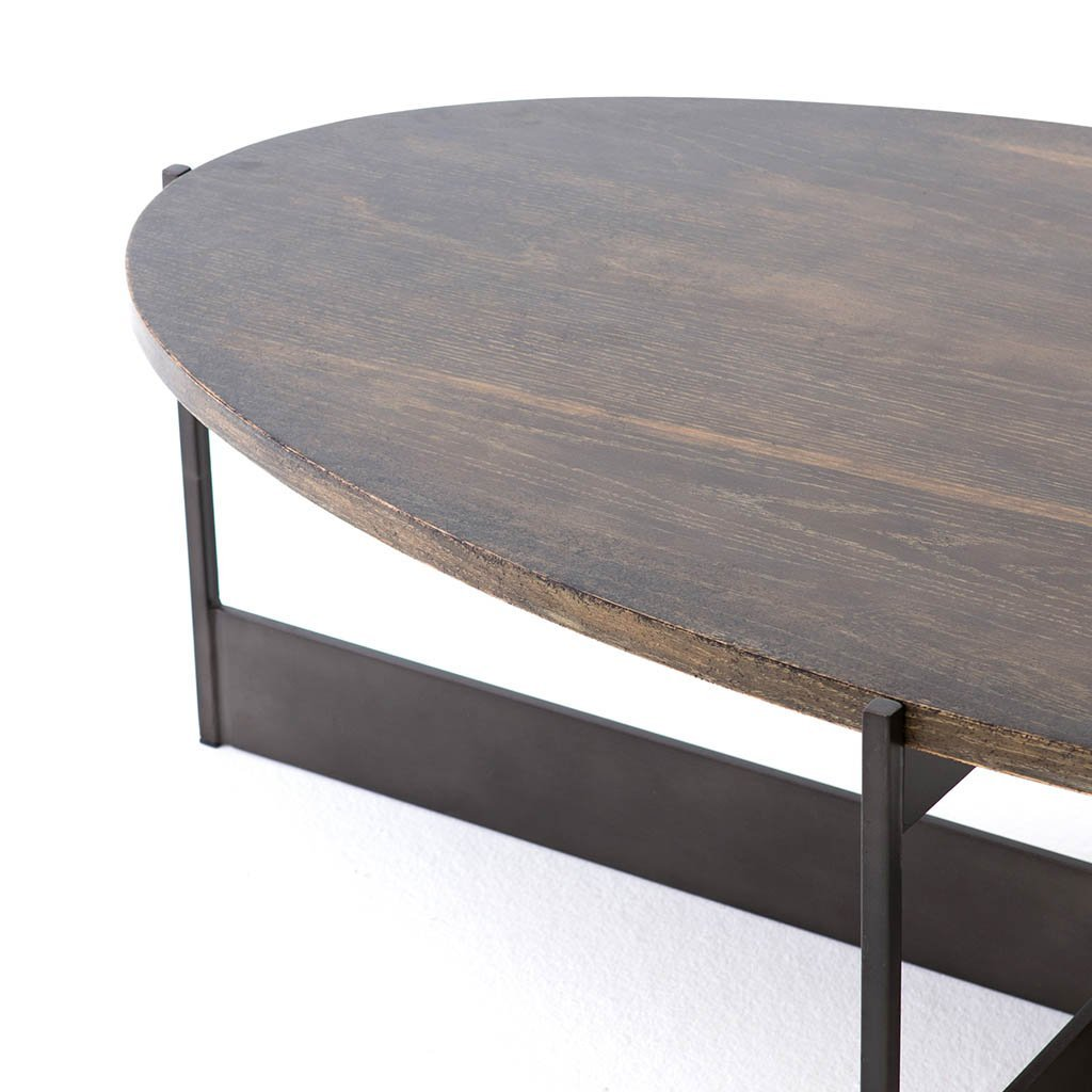 Shannon Oval Coffee Table CIMP-225 Four Hands