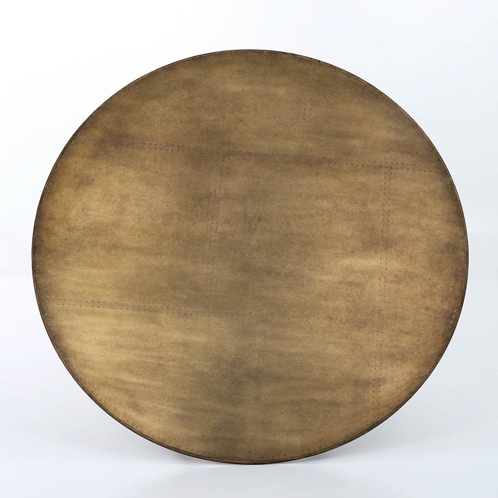 Spider Round Dining Table - Antique Brass Clad CIMP-168 Four Hands