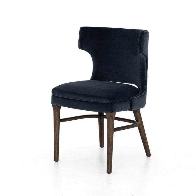 Task Dining Chair - Modern Velvet Shadow Four Hands CASH-32J-196