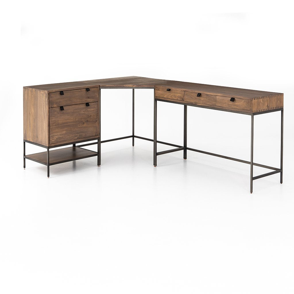 Trey Sectional Desk Four Hands Furniture UFUL-038