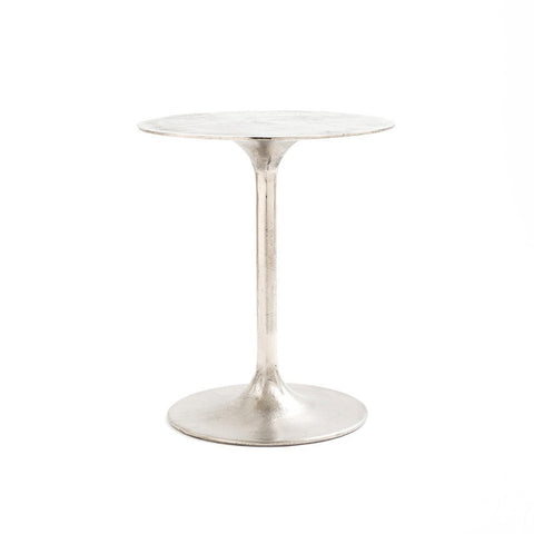 Drexel Iron Etch End Table - Antique Nickel