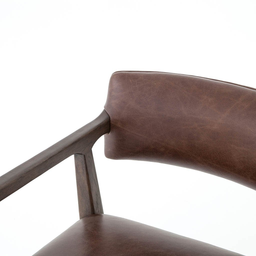 Four Hands Tyler Desk Chair - Havana Brown CABT-76