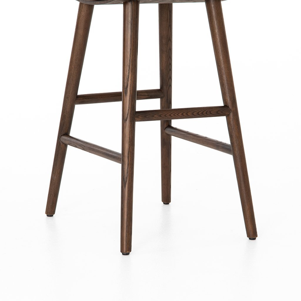 Union Barstool - Distressed Black by Four Hands Furniture