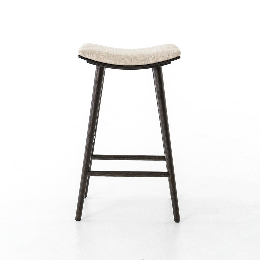 light upholstered barstool