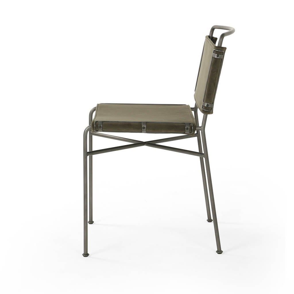 wharton green dining chair