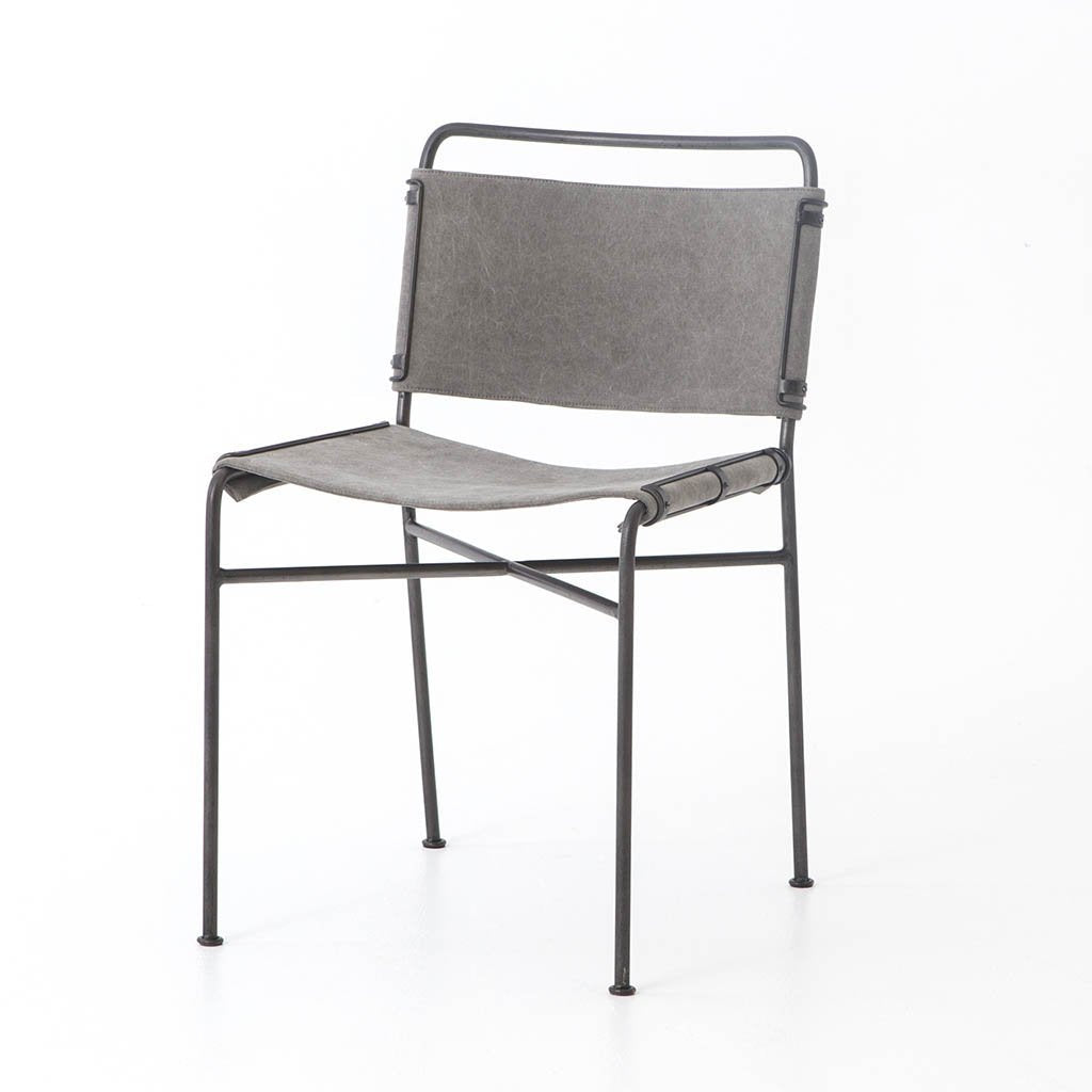Wharton Dining Chair - Stonewash Grey