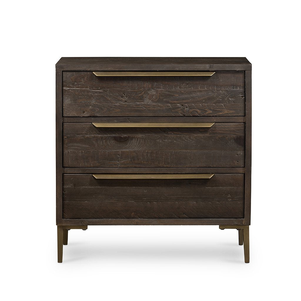 Wyeth 3 Drawer Small Dresser VWYT-003B Front Detail