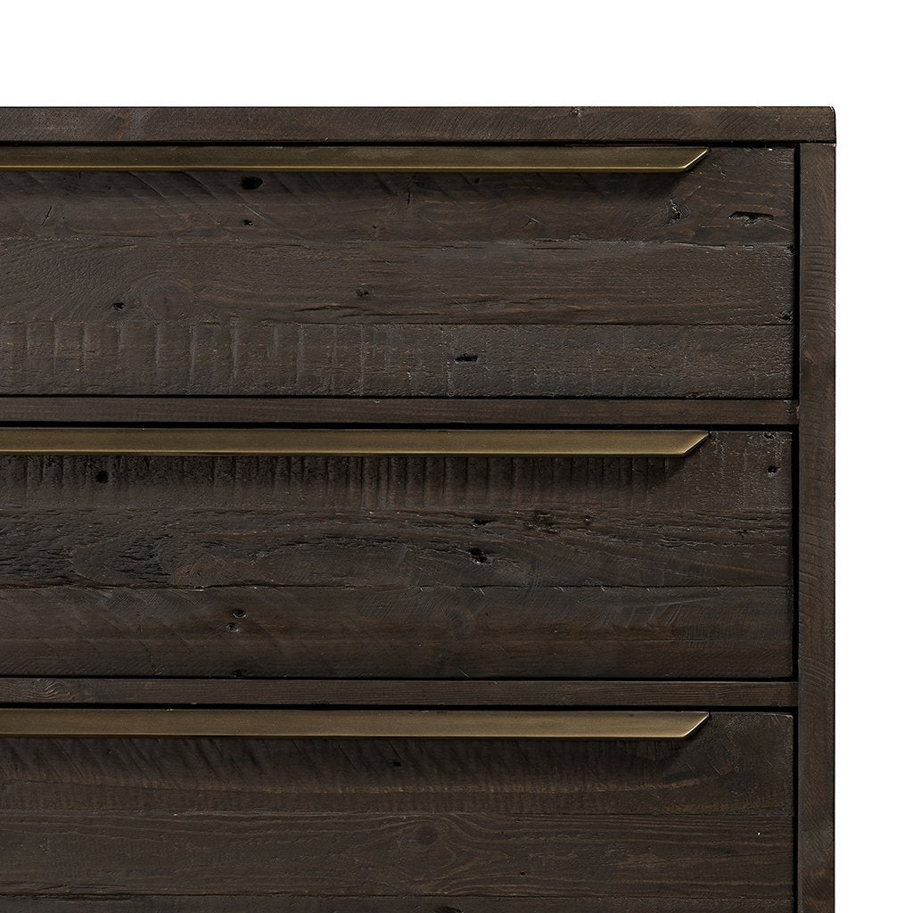 Wyeth 6 Drawer Dresser - VWYT-005B Corner and drawer detail