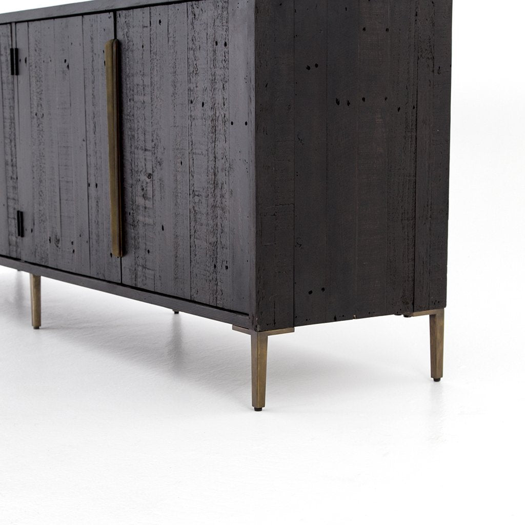 Large dark sideboard