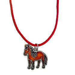 Horse Body Cute Kids Mood Necklace