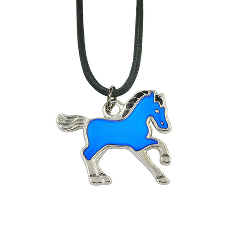 Trotting Horse Youth Mood Necklace
