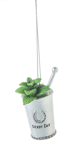 Mint Julep Kentucky Derby Day Ornament
