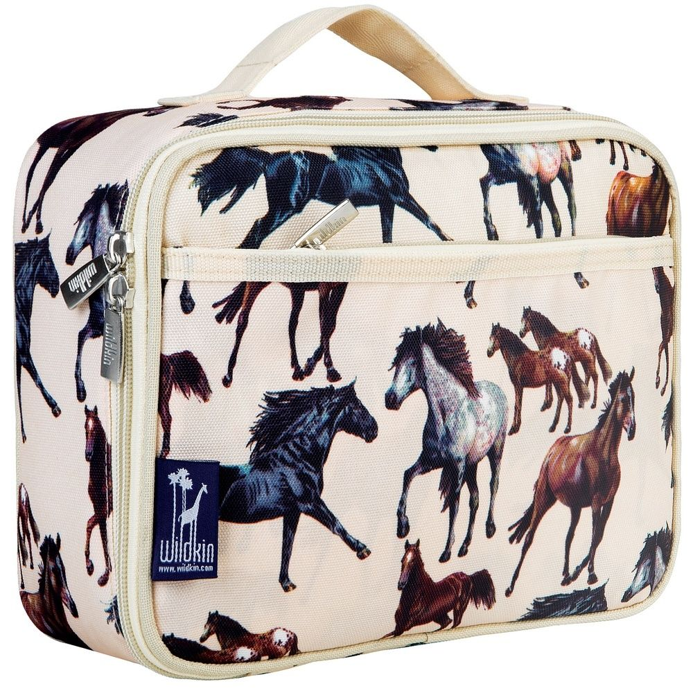 Wildkin Horse Dreams Taupe Lunch Box
