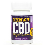Desert AZEE CBD Gel Caps Full Spectrum 25mg