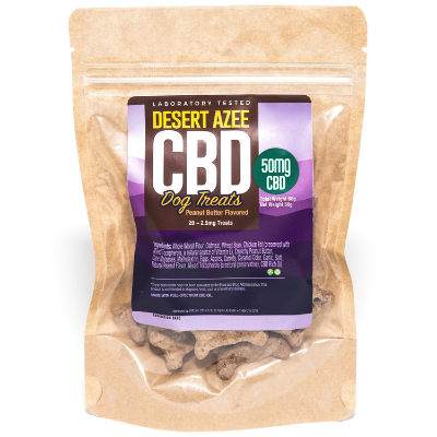 Desert AZEE 20 Piece CBD Dog Treats 50mg