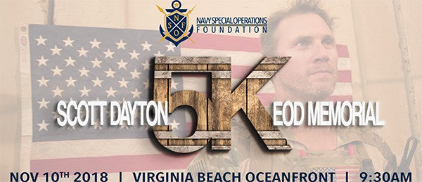 2nd Annual Scott Dayton EOD Memorial 5K Race