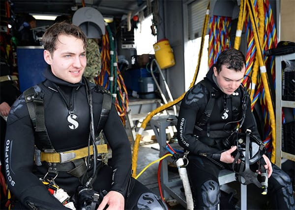 Navy Divers Rescue Driver from Frigid Lake