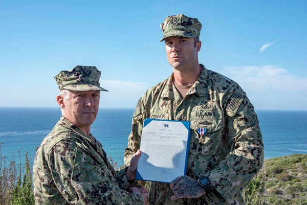 Navy EOD Chief is Awarded the Silver Star for Heroic Actions in Iraq