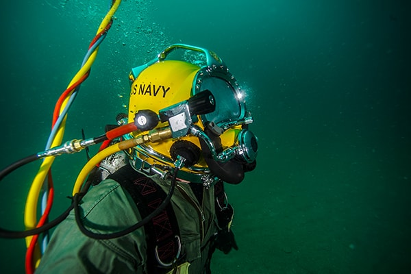Learn about Navy Divers