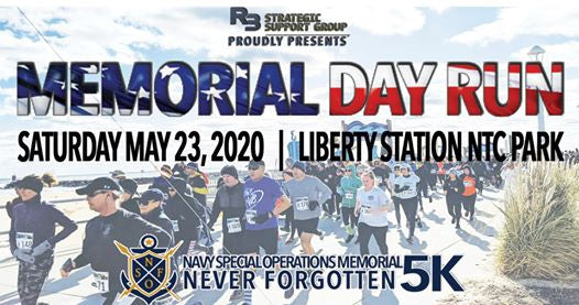 Memorial Day 5K and Celebration @ Liberty Station/Stone Brewery