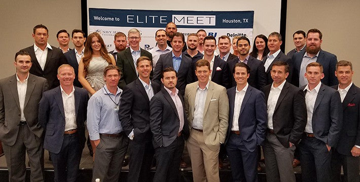 Elite Meet networking event in Houston, TX