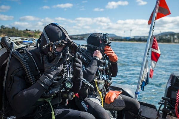 Navy Special Operation Divers