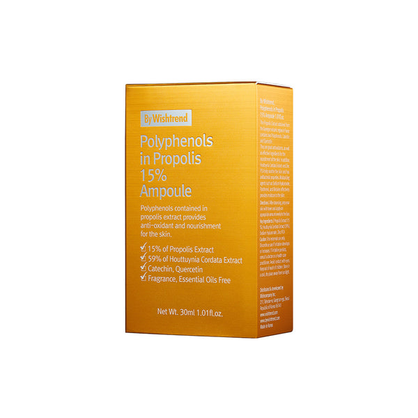 By Wishtrend Polyphenols In Propolis 15% Ampoule 30ml box