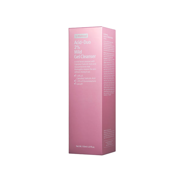 By Wishtrend Acid-Duo 2% Mild Gel Cleanser 150ml box