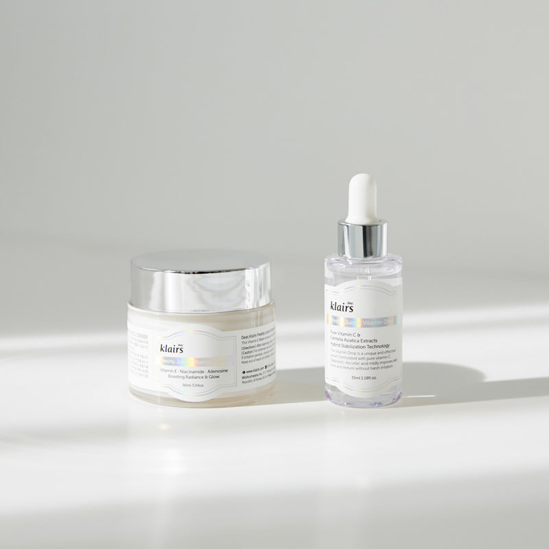 Another view of Dear Klairs Vitamin Duo Gift Set